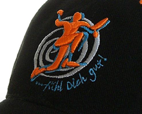 Cap mit Flach- und 3D Stick