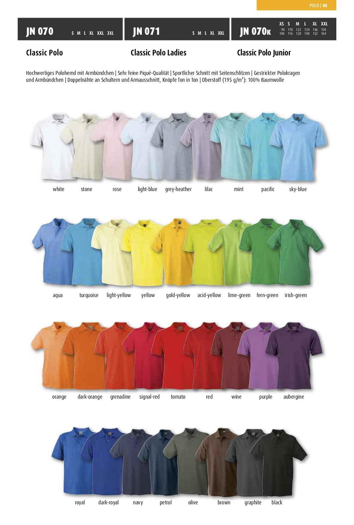 Farben Classic Polo