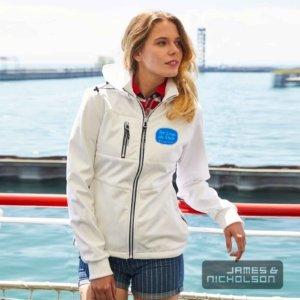 Damen Softshelljacke maritim