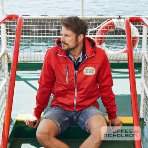Herren Softshelljacke maritim
