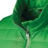 Steppweste green Detailansicht