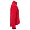 Herren Softshell Jacke rot Seitenansicht