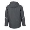 Workwear Winter Softshell Jacke black Rückansicht