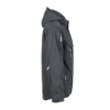 Workwear Winter Softshell Jacke black Seitenansicht