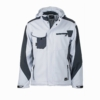 Workwear Winter Softshell Jacke white Frontansicht