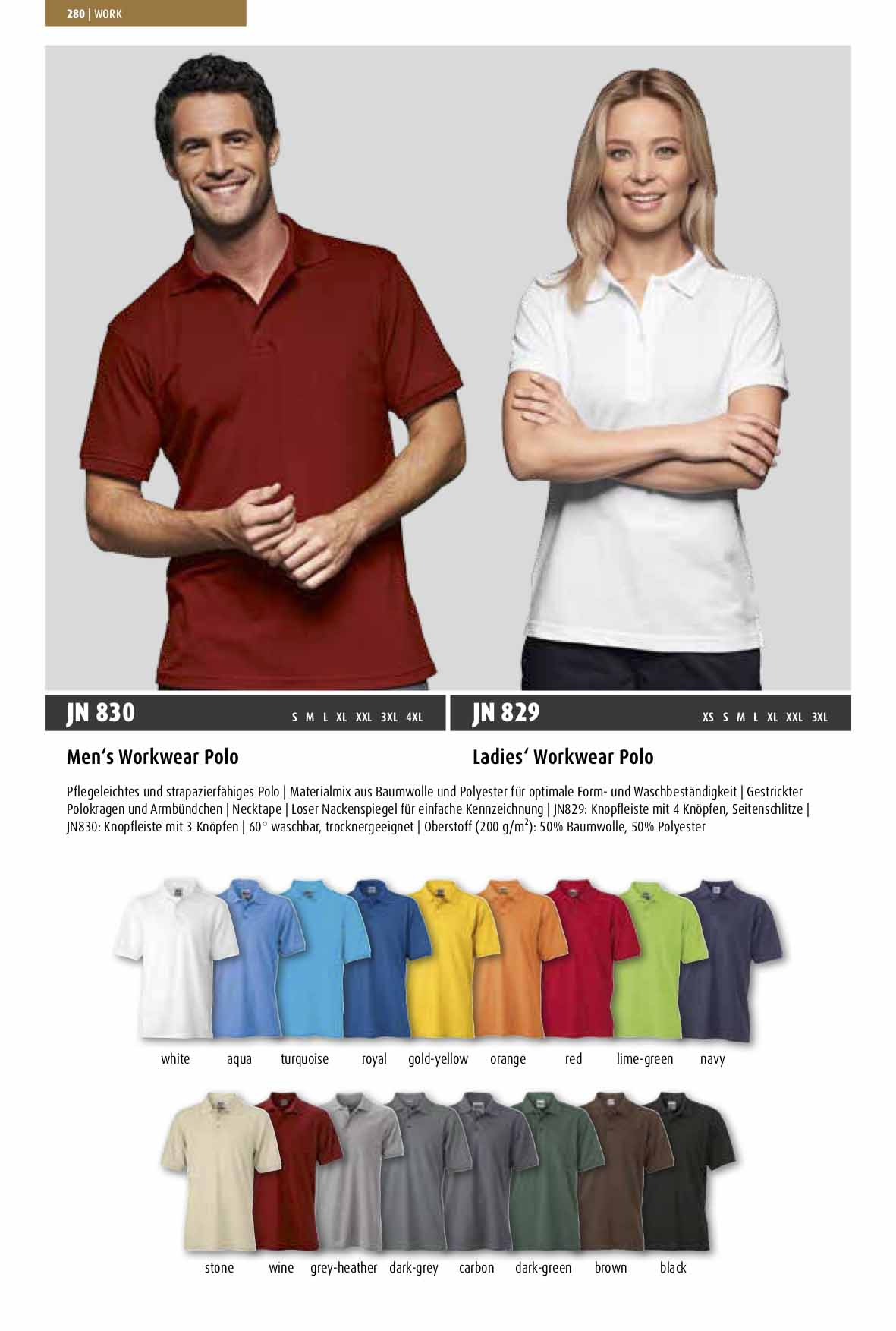Farben Workwear Polo