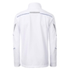 Winter Workwear Softshell Jacke white Rückansicht
