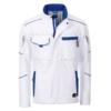 Winter Workwear Softshell Jacke white Frontansicht