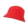 Fischer Hut Farbe Red Black