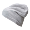 Jersey Beanie grey-melange